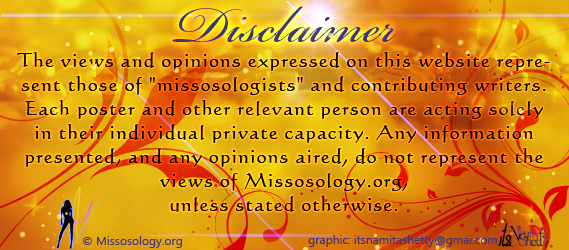 missosology disclaimer