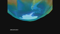 Ozone Hole Evolution, August 1 through November 30, 2018