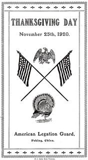 thanksgiving 1920