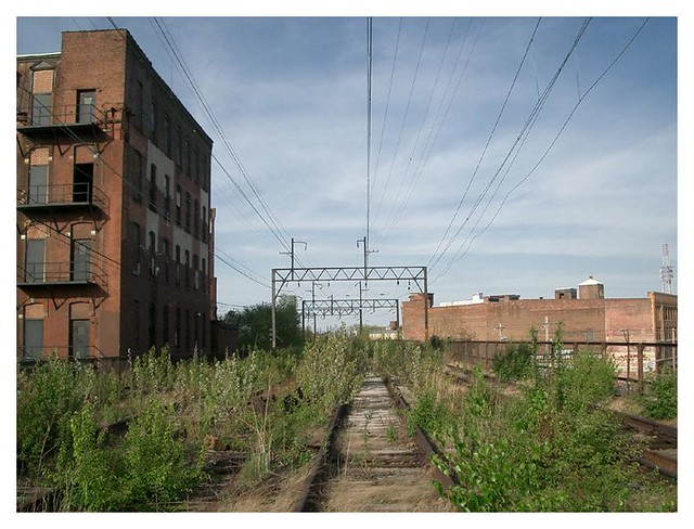 abandoned elevated railway