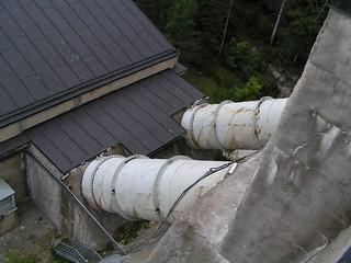 water pipes @ brekke power plant