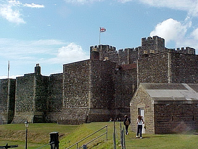 Inner Curtain Wall : Dover castle inner curtain wall this is the