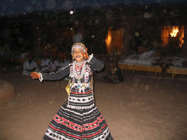 Dancer at Osian