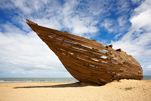Shipwrecked in St Kilda...