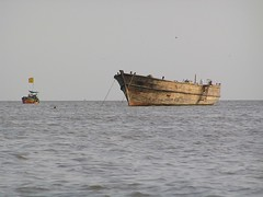 Dhow and Koli fishing boat