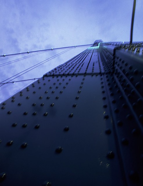 Looking Up at Lions Gate