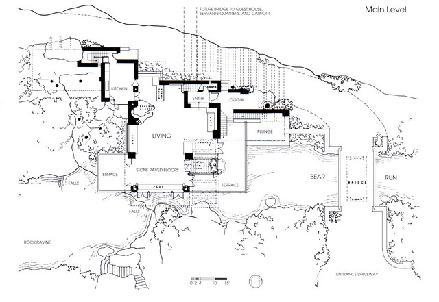 fallingwater floor plan flickr photo sharing falling water house plans and elevations arts