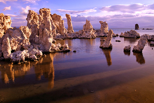 Mono Lake shadows