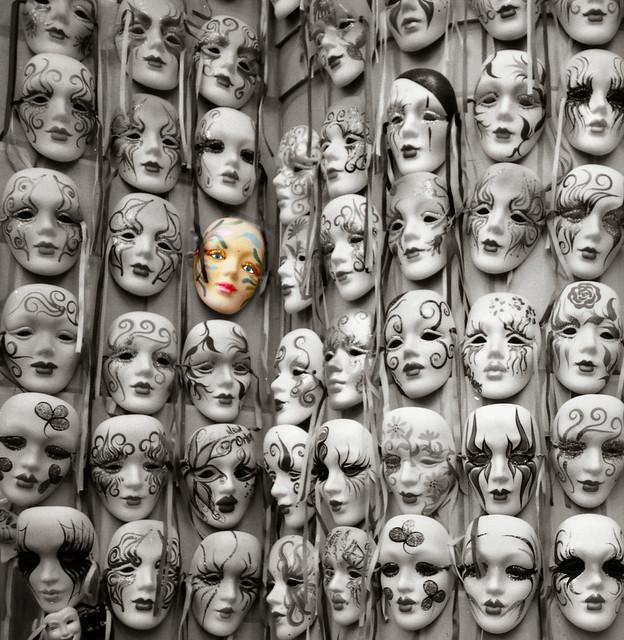 Masks from Flickr via Wylio