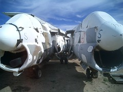 Corsair II fuselage sections
