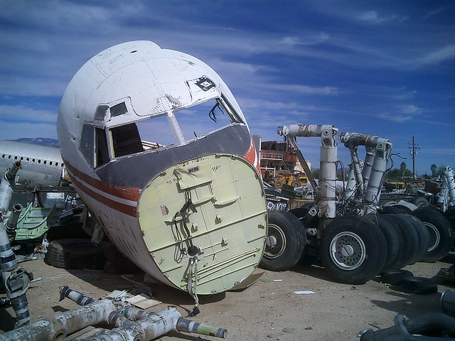 National Aircraft scrapyard, Tuscon, Arizona