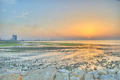 Shuwaikh Port Sunset