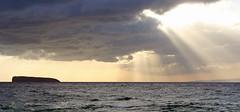 Sun over Molokini