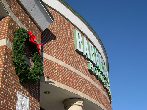 Barnes & Noble and Wreath