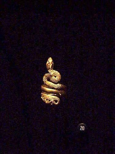 Gold Snake Ring Roman 1st BCE - 1st century CE