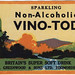 sparking non-alcoholic vino-tod label