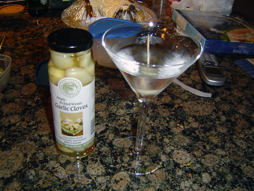 garlic martini by Maria in Toronto