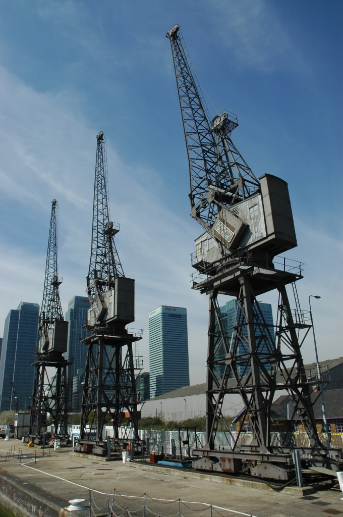 Past Docklands Glory