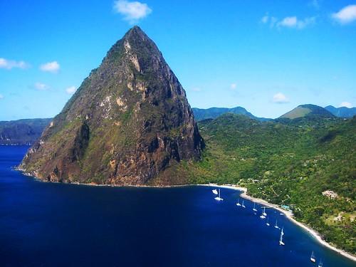 Petit Piton, St Lucia by webmink