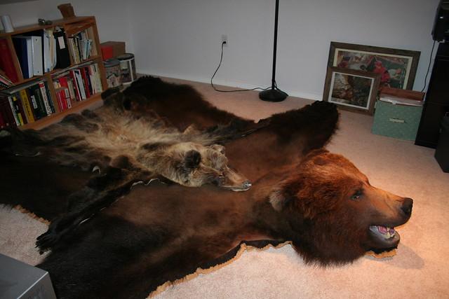 fake polar bear rug | roselawnlutheran