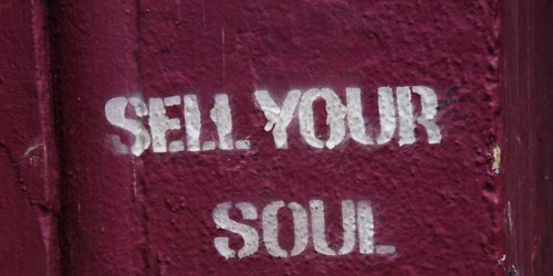 Grafitti: Sell Your Soul - Unspeakably Awesome - Flickr