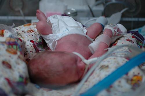 day 41: a new, bigger diaper!