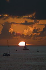 Key West Sunset with boats