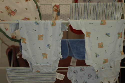 day 53: his first load of laundry!