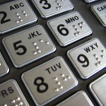 ATM keypad 2/4