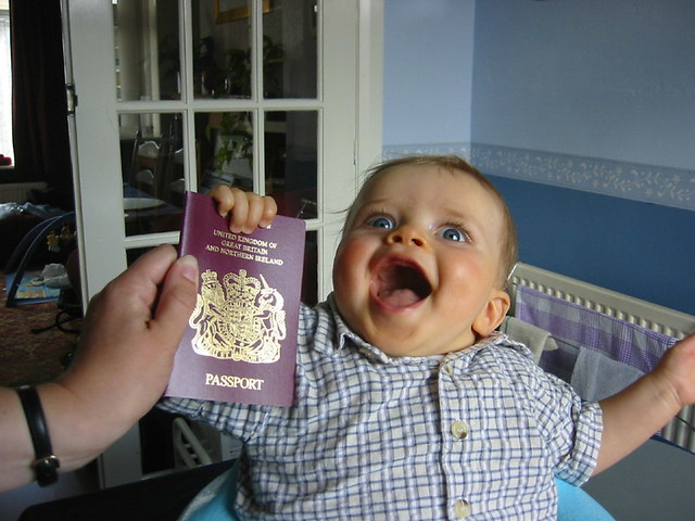 Passport - wahey!