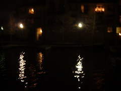 Across Las Colinas canal city