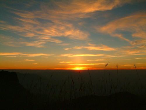 Kudremukh sunrise