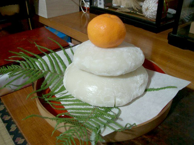 Kagami Mochi (Mirror Rice Cakes)
