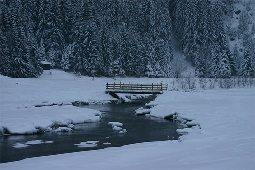 Bridge in winter par Meyer Family