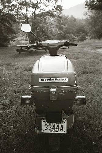 The Old Scooter