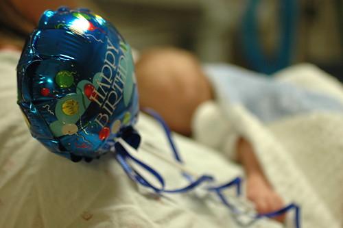 day 62: second gregorian birthday balloon