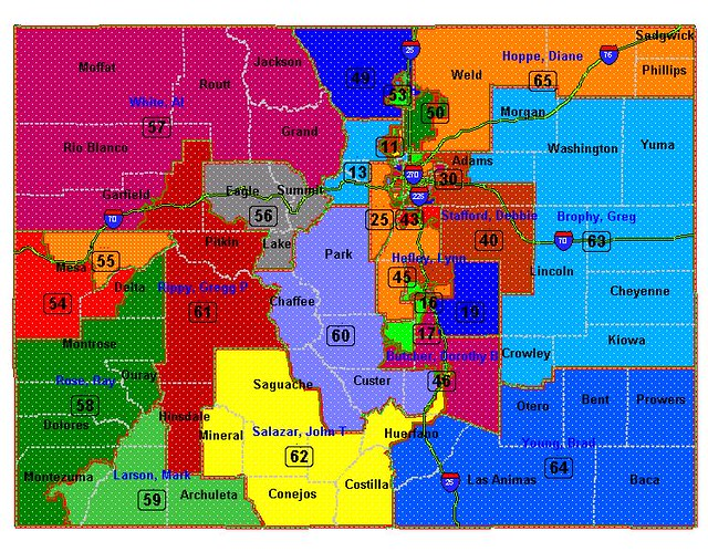 Colorado house districts wide view flickr photo sharing House map photo