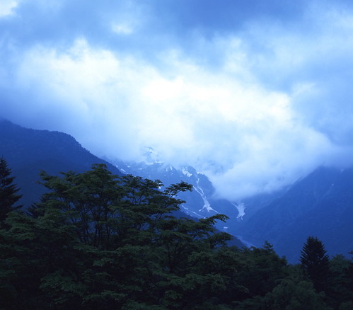 Misty Morning in Kamikochi