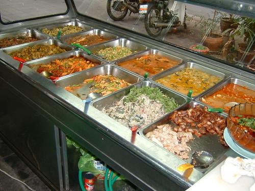 Steam Table of Thai Food