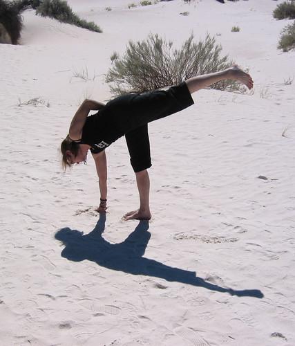 White Sands entry to halfmoon.