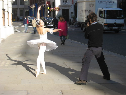 Ballerina, Covent Garden, Friday morning