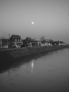 River and Moon