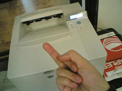 I hate my HP Printer - YouTube