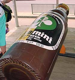 Star Beer coffin
