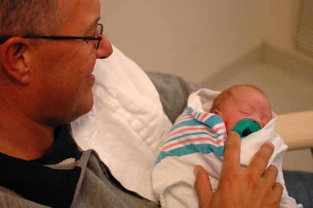 day 91: another visit from grandpa eric!