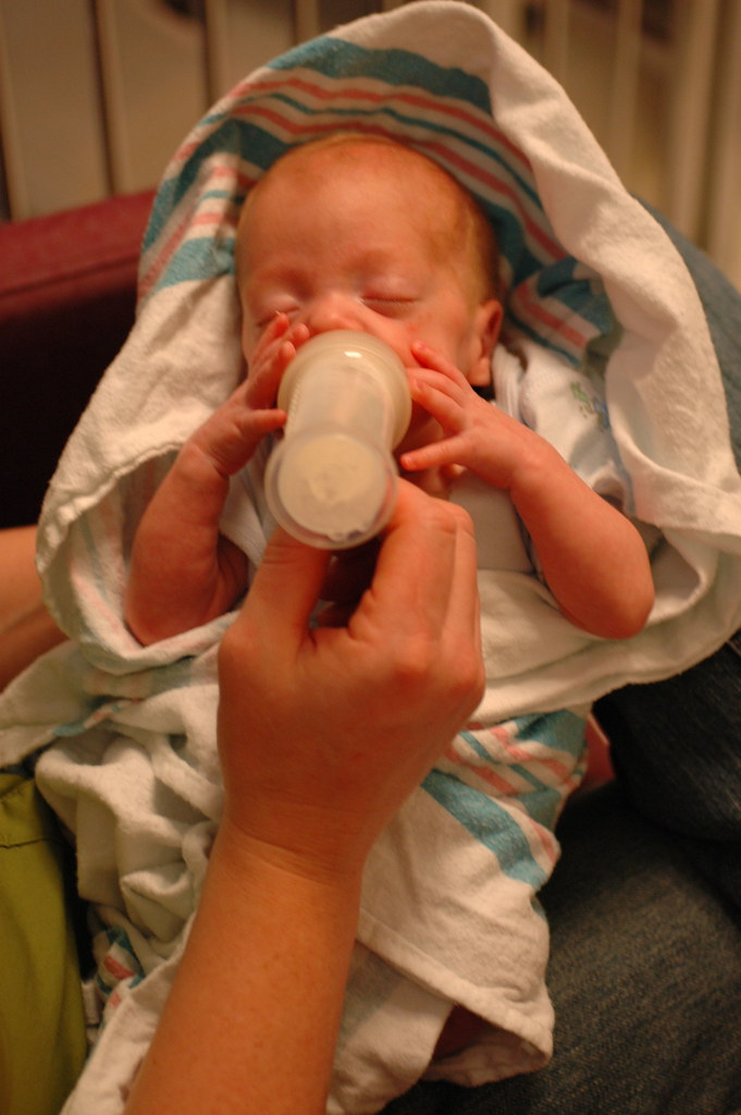 day 96: next to the last nicu bottle