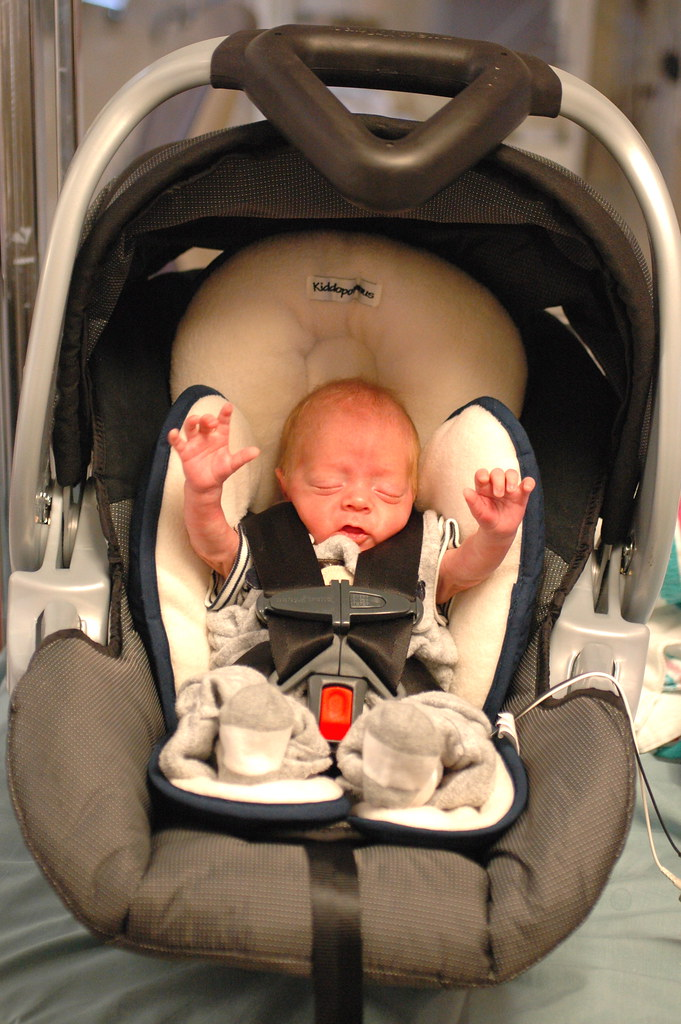 day 96: in the car seat!
