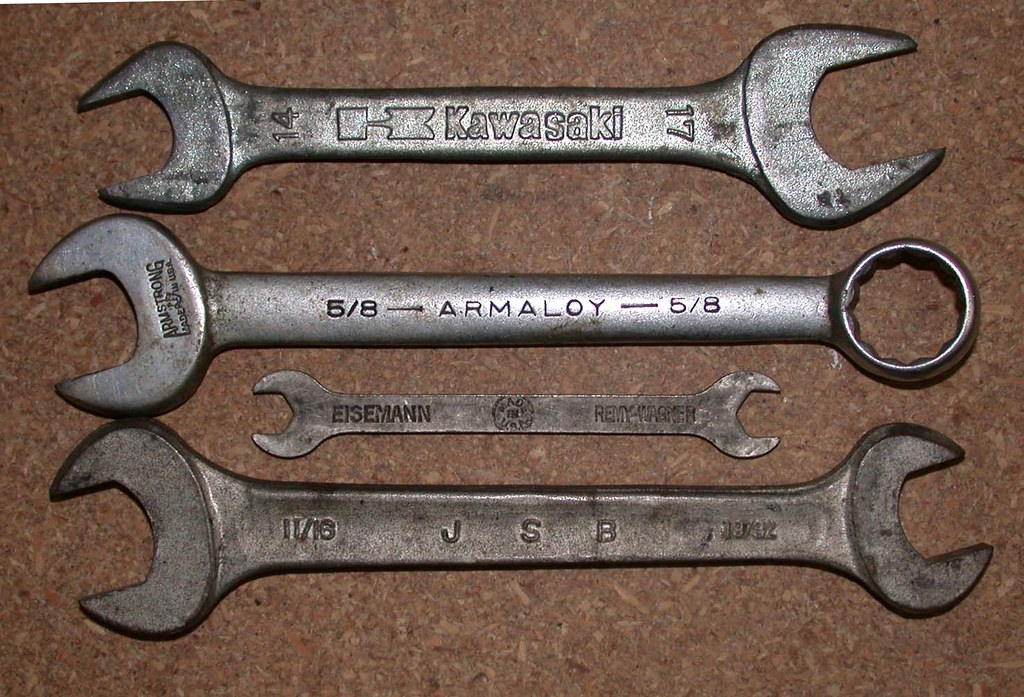 crescent wrenches 1