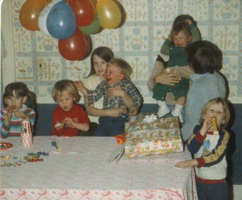 Brandon S Birthday 1980 A Classic Old Photo Of My