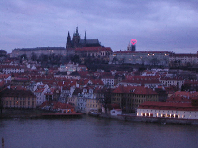 Hradcany from Charles Bridge, Panasonic DMC-F7